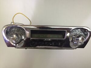 Vintage-Car-Stereo-Possibily-From-60s-Bel-Aire-Parts-Or-Repair-Untested