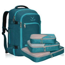 75a0c04a346b 40L Carry On Luggage Backpack 3pcs Set Packing Cubes Travel Bags Wholesale