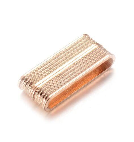 1 cierre magnético ancha 33,5x14x7 interior 30x4 mm Golden para pulseras//305