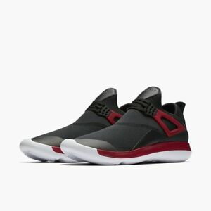 online retailer ab625 205f8 Image is loading Nike-Jordan-Fly-89-Lunarlon-Gym-Red-White-