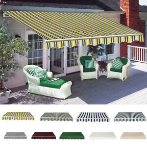 Hot Door Manual Diy Awning Canopy Outdoor Patio Garden Sun Shade
