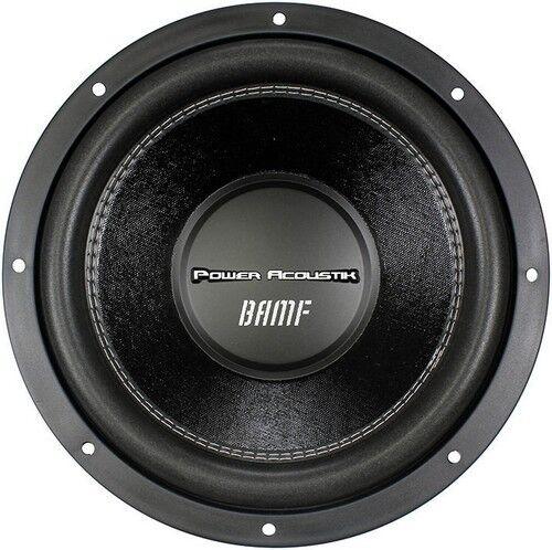 "Power Acoustik BAMF122 12/"" Sub Woofer Dual 2 Ohm 3500 Watts Max"