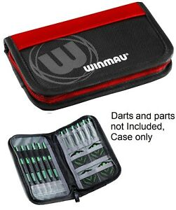 Winmau-Super-Darts-and-Accessory-Case-Wallet-Red-Durable-Holds-2-Sets