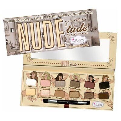 theBalm Nude'Tude Nude Eyeshadow Palette (GLOBAL FREE SHIPPING)