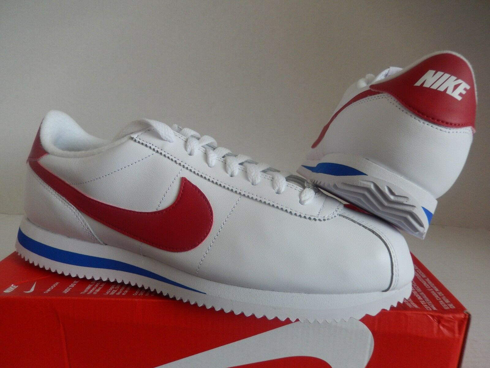 NIKE CORTEZ BASIC LEATHER -RED OG