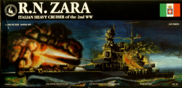 Tauro 1 400 Zara Italian WWII Cruiser