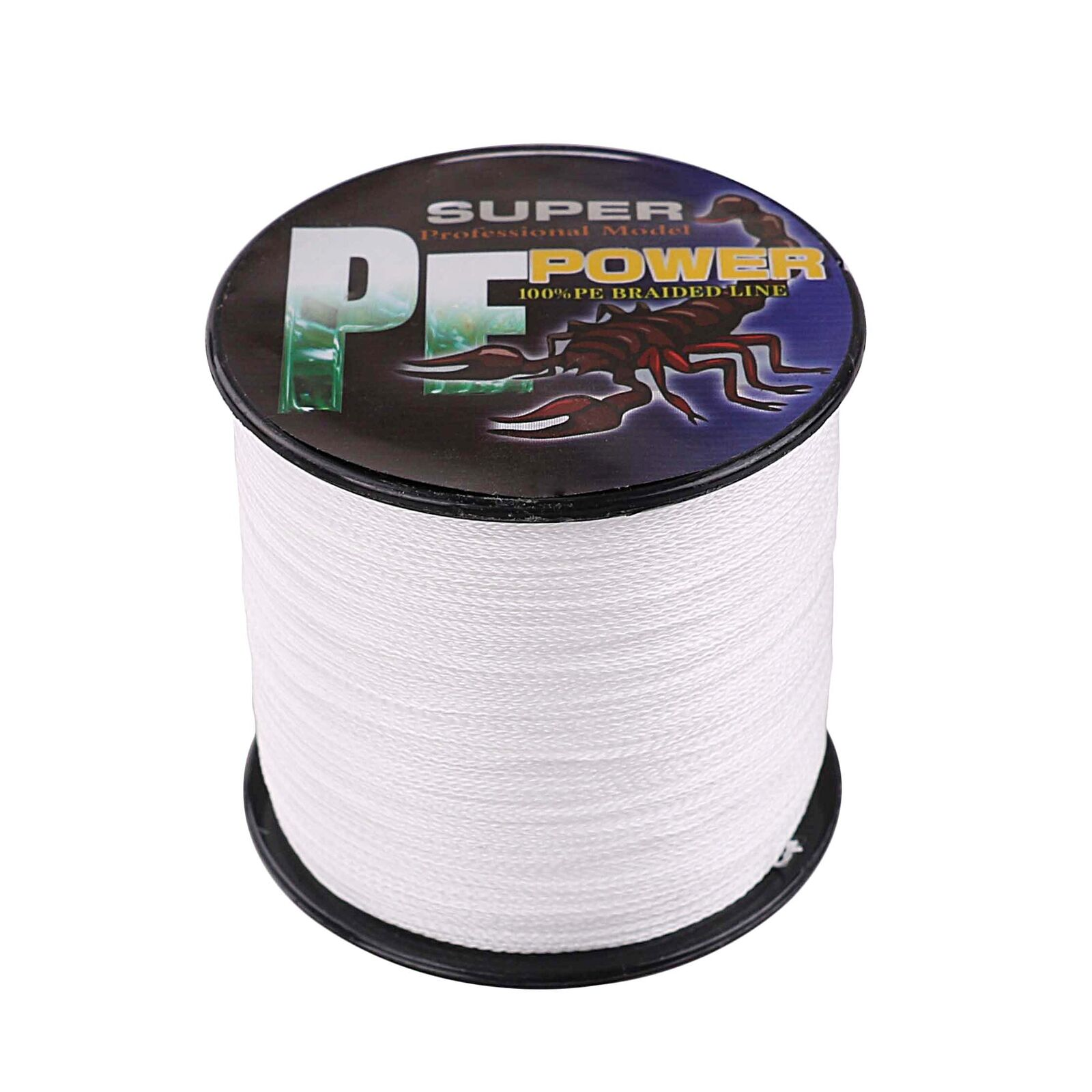 16 Strands 100-2000M 20lbs-300lbs White Hollow pe Dyneema Braided Fishing Line