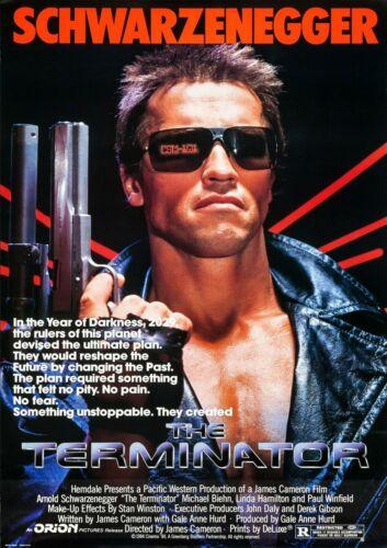 The Terminator Arnold Schwarzenegger Movie Film Photo Print Poster Picture