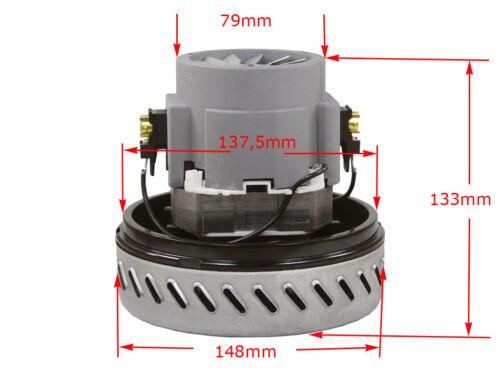 M15 Universal Motor Saugmotor Ametek 061200219 1100W für Kärcher NT221 NT311-