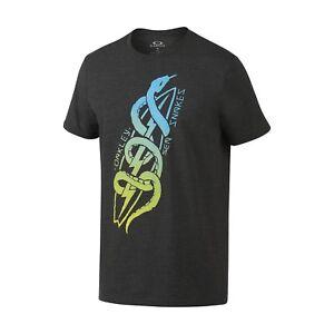 d936a710af Oakley 455502 Men s 50 50 Sea Snake Tee Graphic Regular Fit T-Shirt ...
