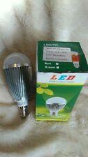 5 x 7W Dimmable SES E14 Warm White LED Light Lamp Bulb Low Energy 240V Job Lot