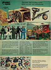 1974 ADVERT Toy Planet Of The Apes Village Fanner 50 Pistol Rapid Fire Rifle