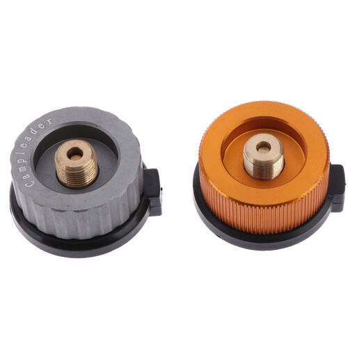 Camping Burner Cartridge Gas Fuel Canister Stove Cans Tank Adapter Converter FEH