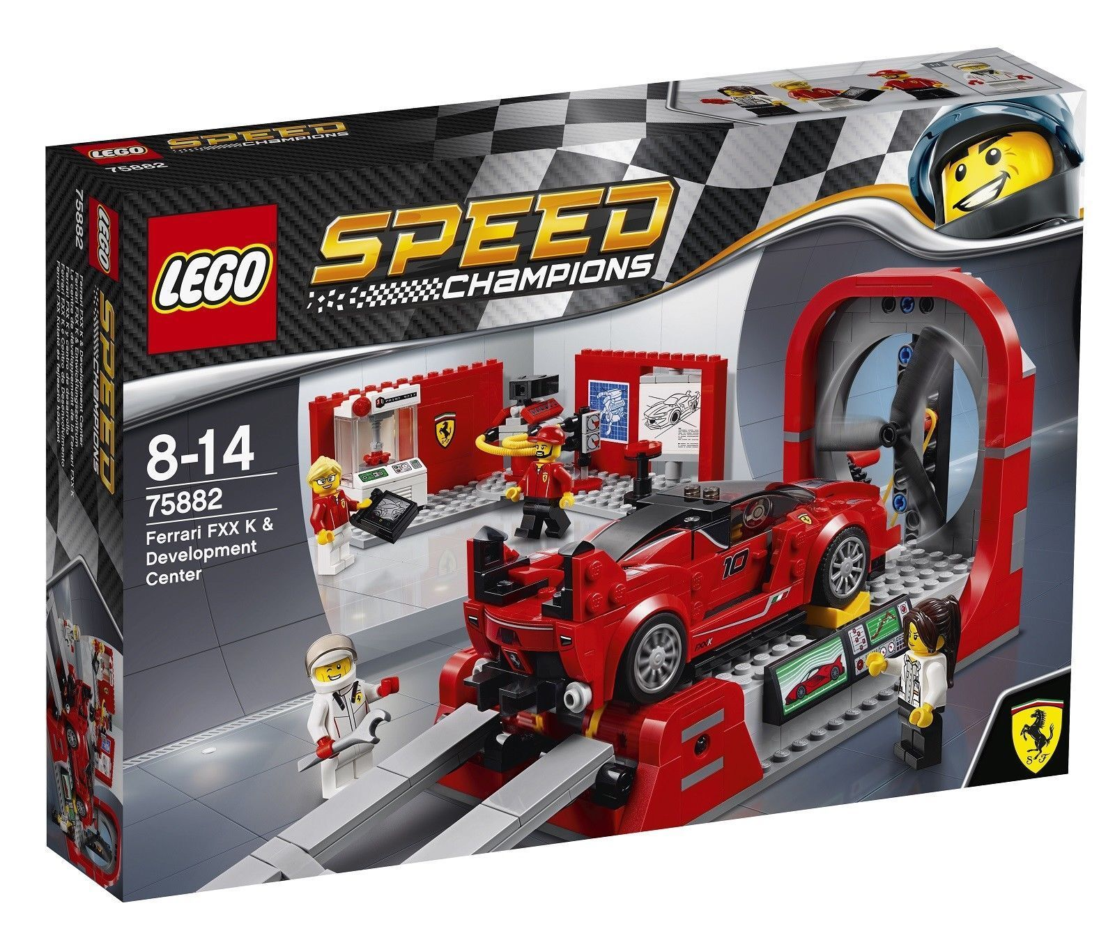 LEGO 75882 Speed Champions Ferrari FXX Development K & Development FXX Center 5263f1
