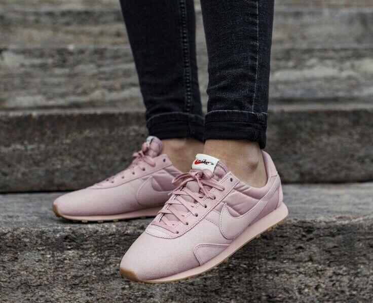 Nike Pre Montreal Racer Vintage Premium Pink Oxford Uk Größe 6 Eur 40 844930-600