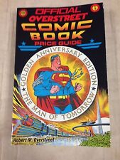 1988 Official Overstreet Comic Book Price Guide #18 Superman cover