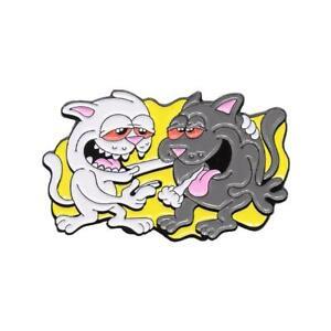 Genuine Rip N Dip Hash Bros Pin - Multicolour