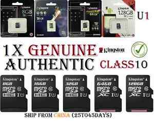 3000b8ab993 GENUINE Kingston 8GB 16GB 32GB 64GB Micro sd card Flash Memory ...