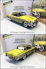 Danbury Mint 1955 STUDEBAKER PRESIDENT SPEEDSTER LE- NMIB/PAPERS- TRULY RARE!