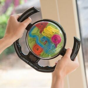 Racing-Maze-Wheel-Puzzle-Game-Addictive-Kids-Adults-Christmas-Toy-Gift-Present