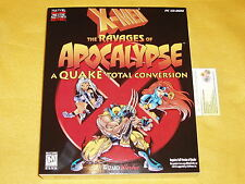 X-MEN THE RAVAGES OF APOCALYPSE QUAKE NEW SEALED REQUIRES FULL VERSION OF QUAKE
