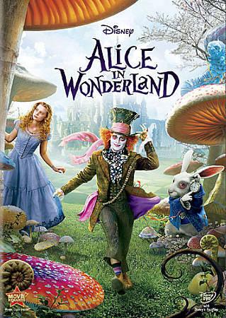 Alice In Wonderland DVD, 2010 - Tim Burton - Johnny Depp - $3.99