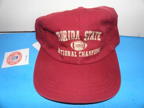 NWT NCAA 1999 Florida State Seminoles Football National Champions  Hat