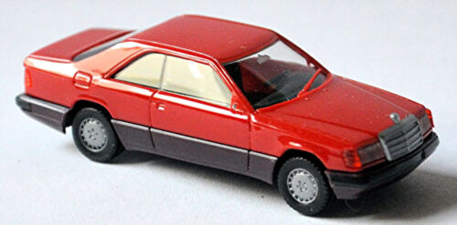 Mercedes Benz E-Klasse 300 CE Coupe C124 Facelift 1989-93 brillantrot 1:87 Herpa