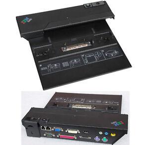 IBM DOCKING STATION PORT REPLICATOR FÜR T20 T21 T22 T23 T30 T40 T41 T42 T43 DS22
