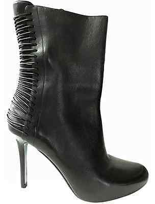 Cole Haan Air Euphemia stiletto Boots black Leather  6 B  $348