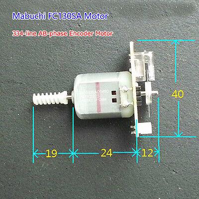 Mabuchi 3V~24V 334-line AB-phase Encoder Motor Code Disk Velocimetry Printer DIY
