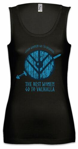 Good Women Go To Heaven Damen Tank Top Valhalla Odin Thor Viking Vikings Fun