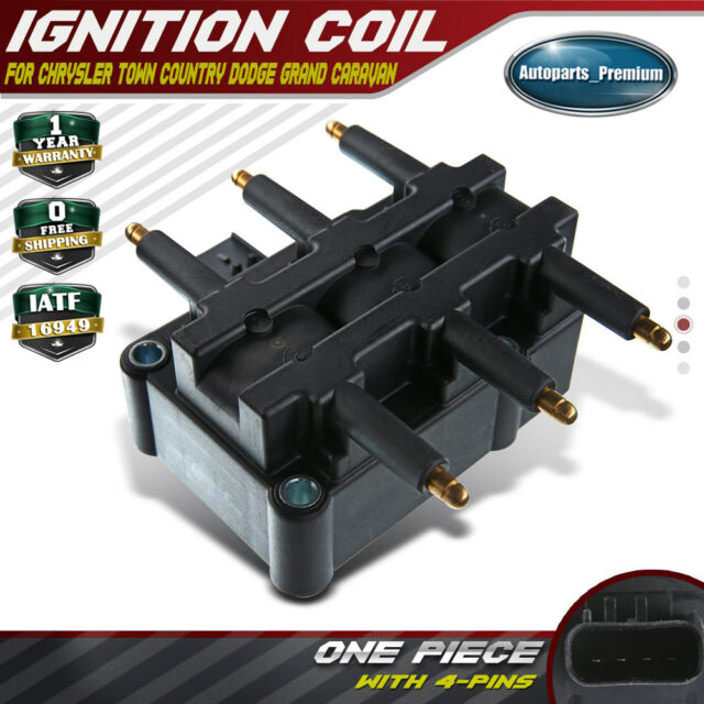 New Ignition Coil for Chrysler Jeep Wrangler Dodge Grand Caravan  3.3L 3.8L