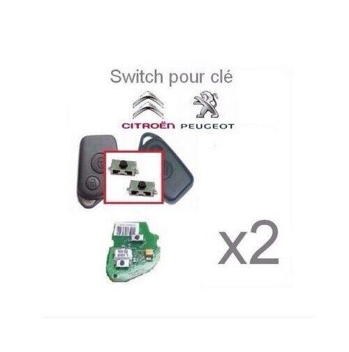 Switch bouton clé télécommande plip CITROEN interrupteur clé BERLINGO