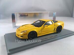 Spark-1-43-Chevrolet-Corvette-C6RS-2009-Yellow-Art-S1536