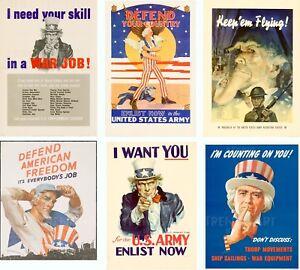 Defend American Freedom Vintage World War Two USA Propaganda Poster