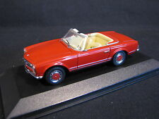 Minichamps Mercedes-Benz 280 SL Cabriolet 1:43 Red (JvM)
