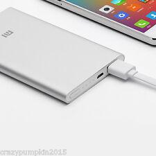 Original Xiaomi MI Power Bank 5000 mAh Utra Thin 9.9mm NDY-02-AM Mobile Charger