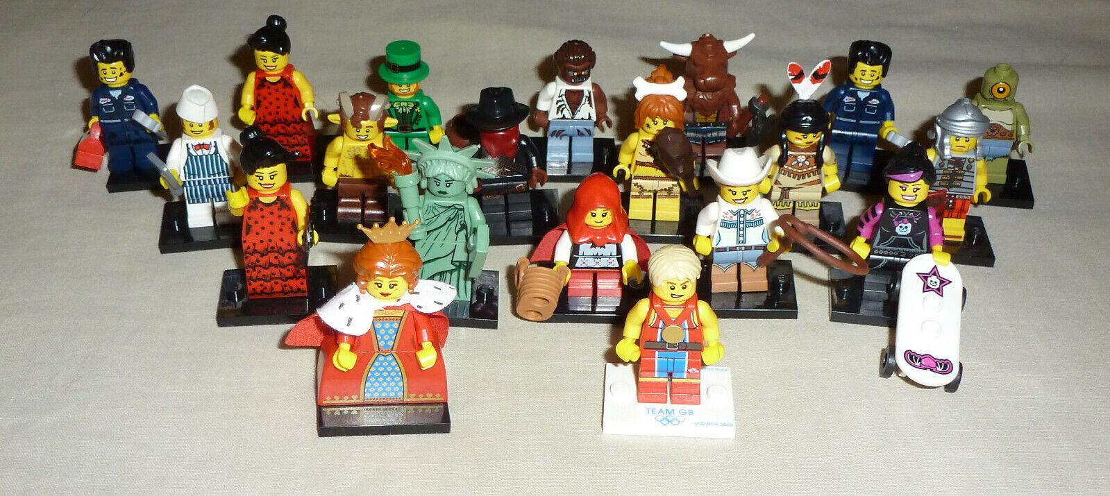 Lego 20 x series Mini Figures
