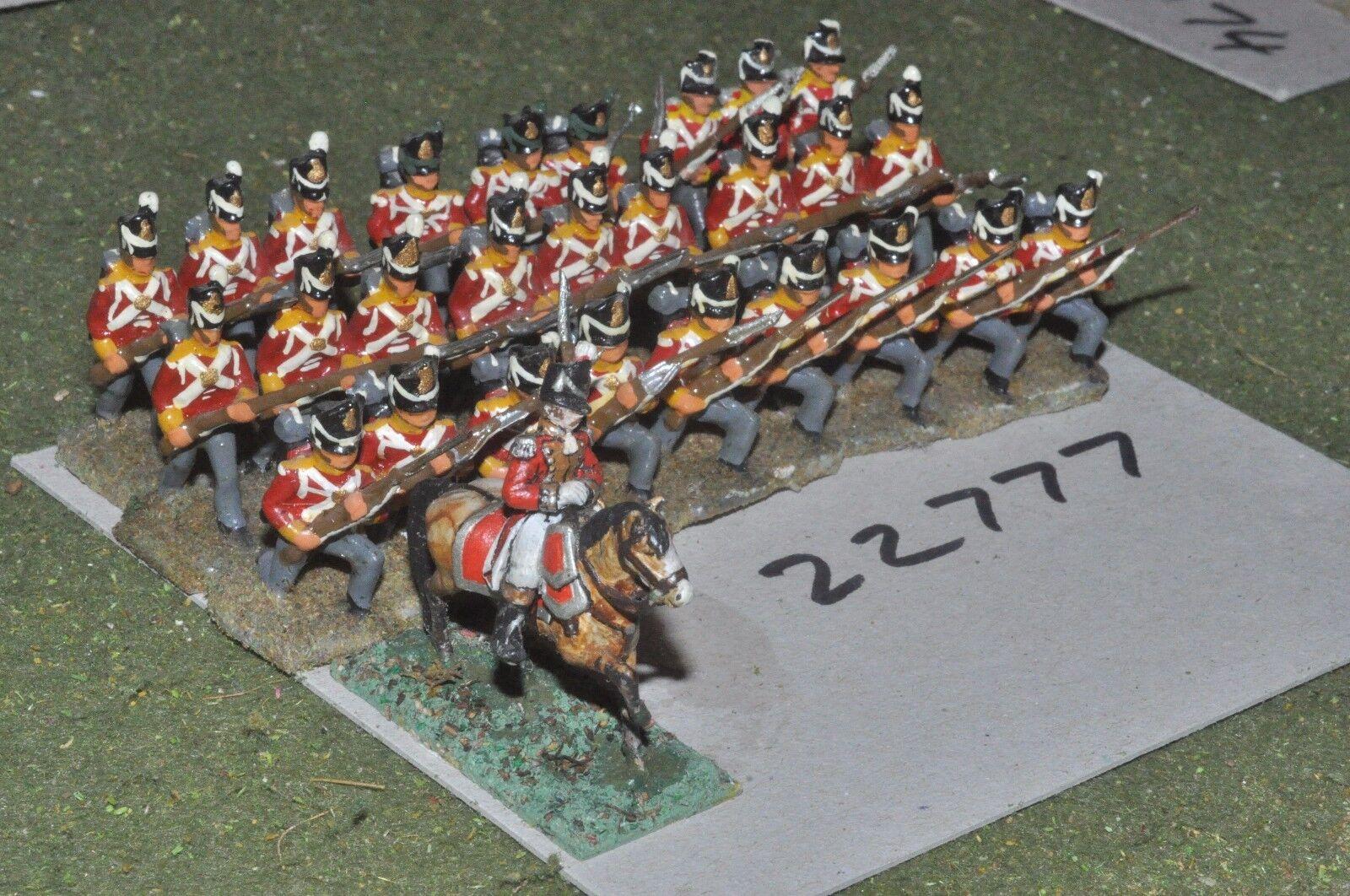 25 mm napoléoniennes British-Ligne 28 figures-INF (22777)