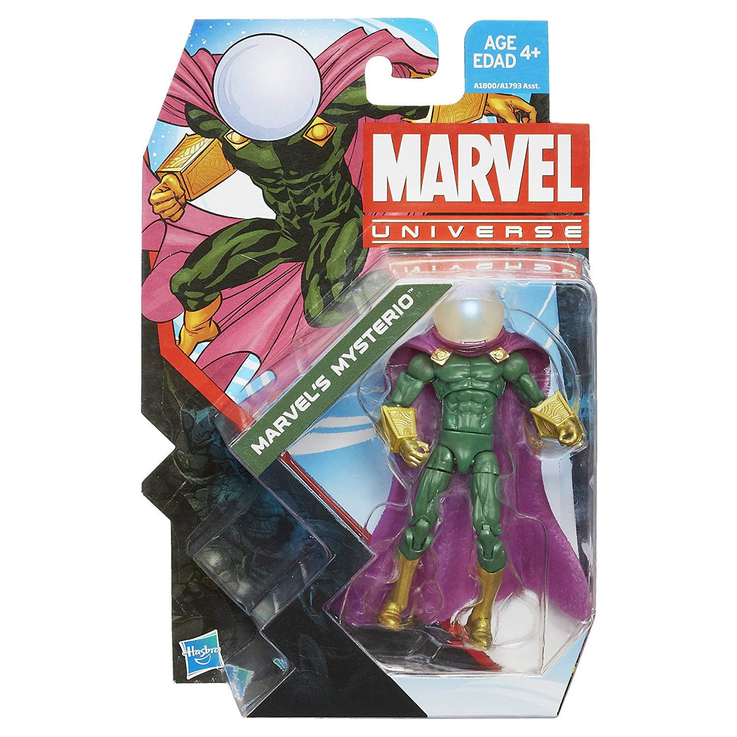 Marvel Universe Marvel's Mysterio Figure 3.75 Inches Series 5 no. 5
