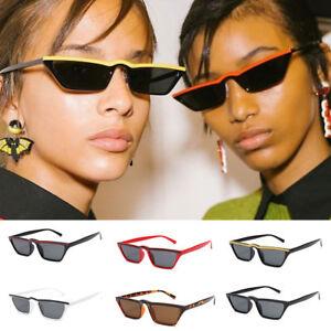 VINTAGE CAT EYE SUNGLASSES WOMEN RETRO SMALL FRAME FASHION SHADES UV400 GLASSES//