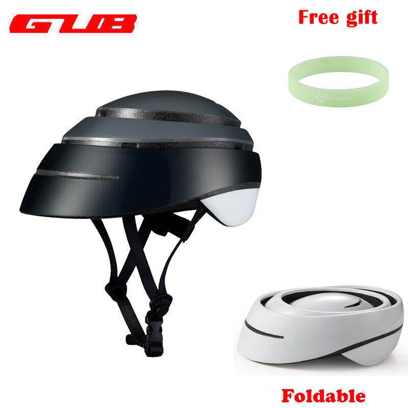 Gub Suro Bicicleta Plegable Ultraliviano casco Portátil Tamaño M L Casco Seguro Nuevo