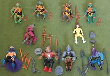 turtles Teenage Mutant Ninja Action Figures original vintage set from 10 backs