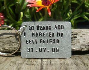 10th Wedding Anniversary Gifts For Men Her Aluminium Tin