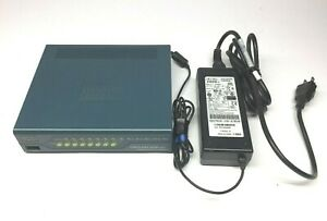 Cisco-ASA5505-8-Port-10-100-Security-firewall-ASA-5505-AC-power-Adapter-include