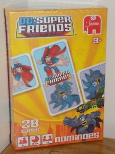 Jumbo  DC Super Friends Dominoes Game  28 Cards  Features  Batman  NEW - Stoke-on-Trent, Staffordshire, United Kingdom - Jumbo  DC Super Friends Dominoes Game  28 Cards  Features  Batman  NEW - Stoke-on-Trent, Staffordshire, United Kingdom
