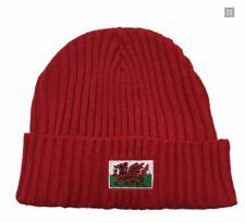 RED WELSH FEATHERS CAP Baseball Hat Cymru Wales Gift Summer