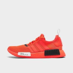 Adidas Originals Nmd R1 Stlt Casual Men S Solar Red Core Black Cloud White Ebay