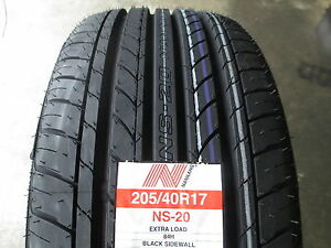 4 new 205 40r17 inch nankang ns 20 tires 205 40 17 r17. Black Bedroom Furniture Sets. Home Design Ideas